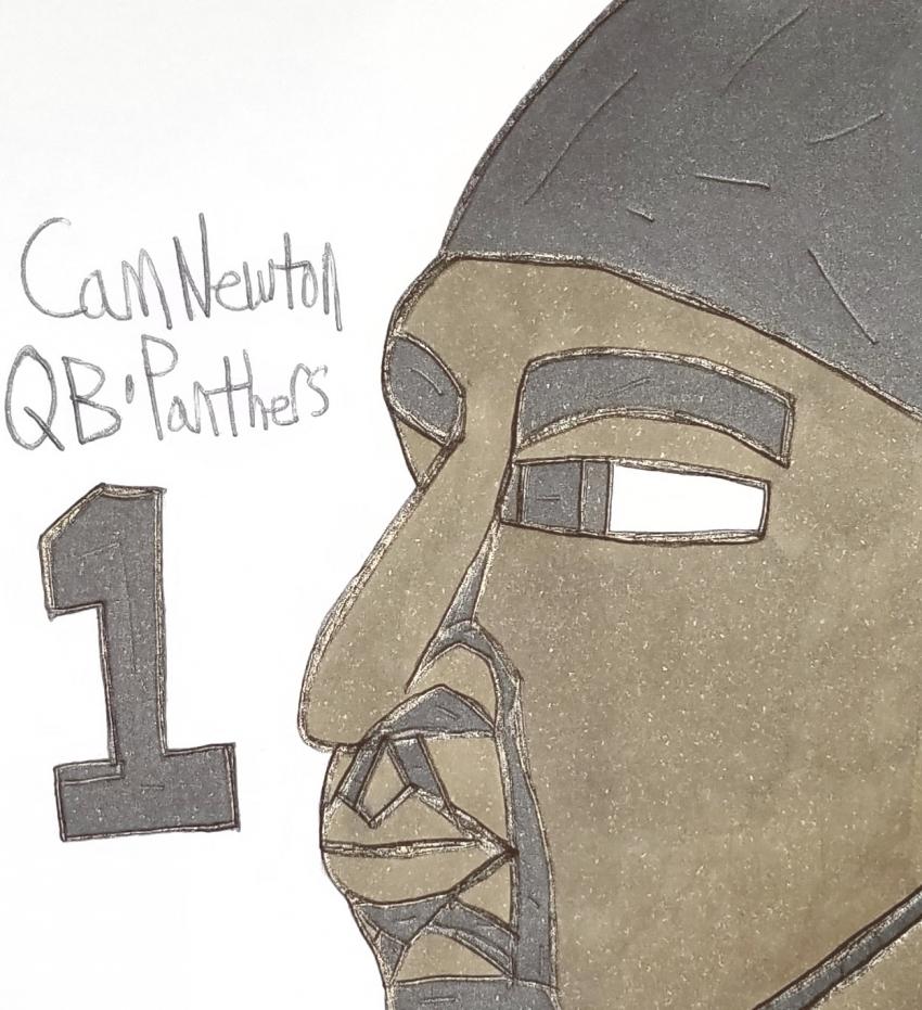 Cam Newton par armattock